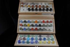 Sortiment: Pigmente aus eigener Herstellung