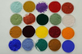 Mustersortiment Pigmente
