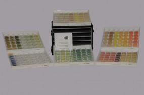 Sortiment der Farbigen Glasmehle