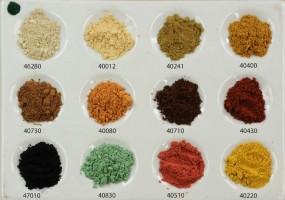 Erdfarbensortiment - Kleine Auswahl