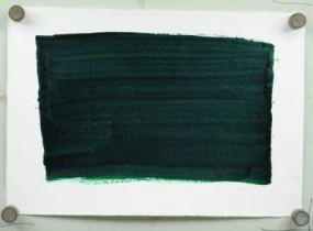 Kremer Künstlertusche Grün, gelbstichig
