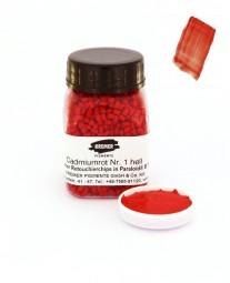 Kremer Retouchierchips - Cadmiumrot Nr. 1 hell