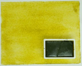 Kremer Aquarell - Gelb grünstichig, PY 129