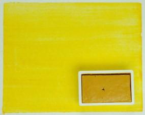 Kremer Watercolor - Pyramid-Yellow medium