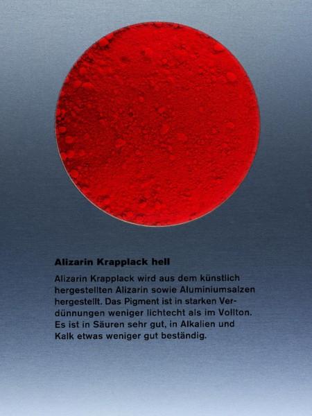 alizarin krapplack hell organische pigmente pigmente der moderne pigmente kremer. Black Bedroom Furniture Sets. Home Design Ideas