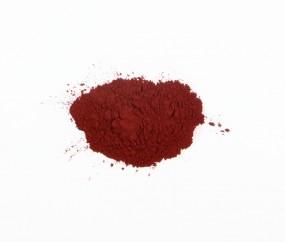 Krapplack aus Wurzeln, bordeaux-rot
