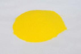 Farbglas kanariengelb, opak