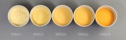 Farbglas altgold, transparent