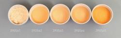 Farbglas orange, transparent