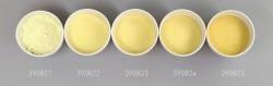 Farbglas brillantgold, transparent