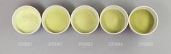 Farbglas erbsgrün, opak