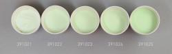 Farbglas opallichtgrün, opak