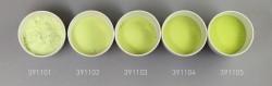 Farbglas citronengelbgrün, transparent