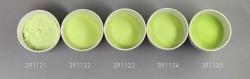Farbglas saatgrün, opak