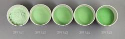 Farbglas moosgrün, transparent