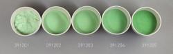 Farbglas neugrün, transparent