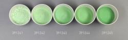 Farbglas sattgrün, opak