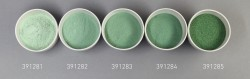 Farbglas bristolgrün, transparent