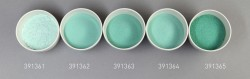 Farbglas annagrün, transparent