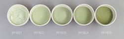 Farbglas olivgrün, transparent