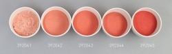 Farbglas korallrot, opak
