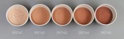 Farbglas karminbraun, opak