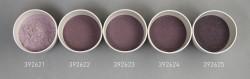 Farbglas dunkelviolett rötlich, transparent