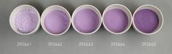 Farbglas hyazinthblau, transparent