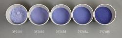 Farbglas montanblau, transparent