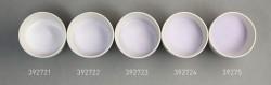 Farbglas zartviolett, opak