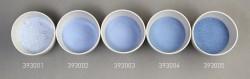 Farbglas aquamarinblau, transparent