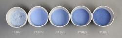 Farbglas silberblau, transparent