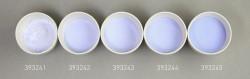 Farbglas opalazurblau, opak