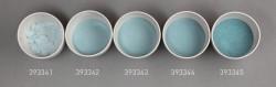 Farbglas opaltaubenblau, opak