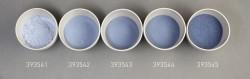 Farbglas stahlblau, transparent