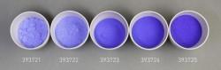 Farbglas sariblau, transparent