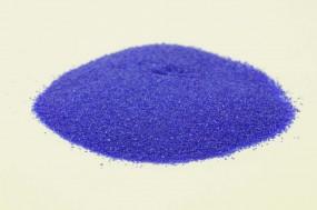 Farbglas dunkelblau, transparent