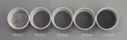 Farbglas schwarz, transparent