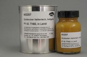 Goldocker italienisch in Leinöl