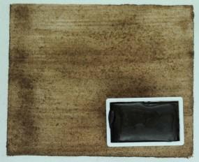 Kremer Aquarell - Umbra gebrannt, schwarzbraun