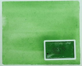 Kremer Watercolor - Chrome Oxide Green