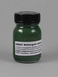 Verde di Müller, medio in linolio