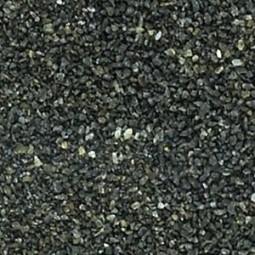 Basalt schwarz , feiner Sand