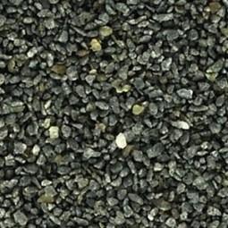 Basalt schwarz, mittel-feiner Sand