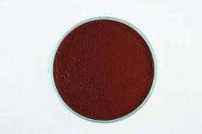 Eisenoxidrot, natur