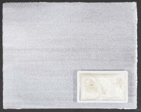 Kremer Aquarell - IRIODIN® 119 POLAR WHITE, Polarsilber