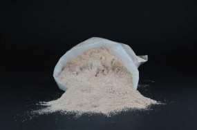 Marbre rouge corail, farine