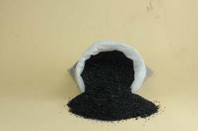 Marbre noir, granules