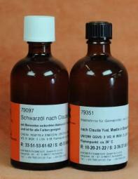 Schwarzöl und Mastixfirnis - Set