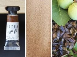 Lutea Pflanzen-Wasserfarbe Braun